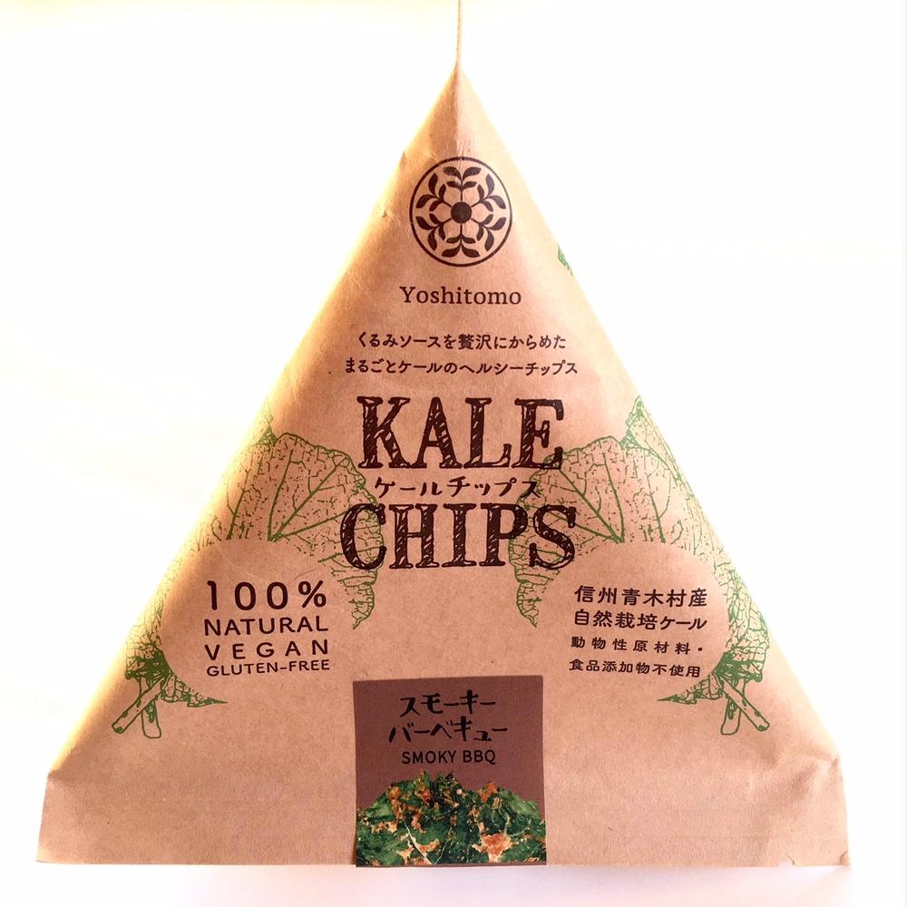 Kale chips スモーキーBBQのイメージ