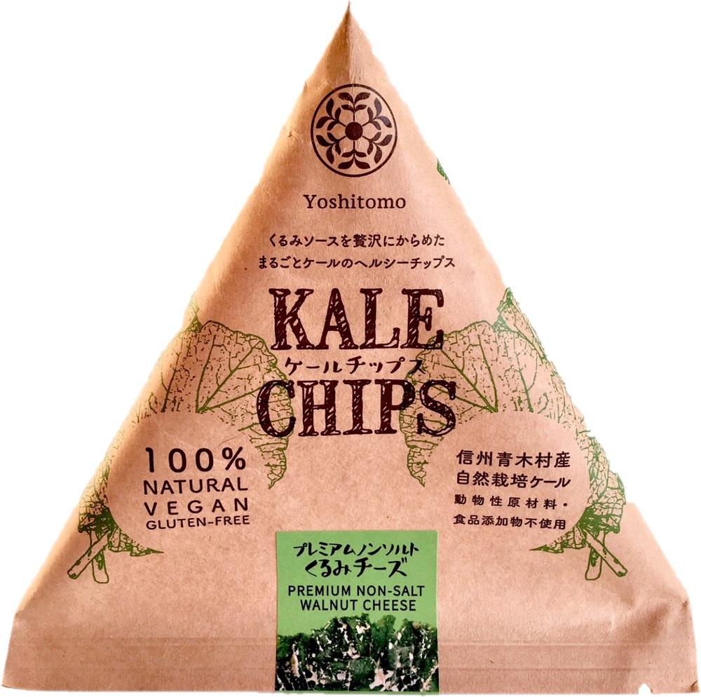 Kale chips プレミアムノンソルトくるみチーズのイメージ